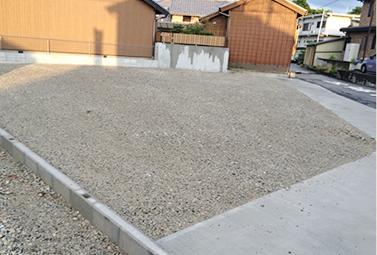 駐車場舗装(砂利)